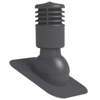Вентиляционный Выход для БИТУМНОЙ Черепицы Утепленный KPGO-1 (125 мм)