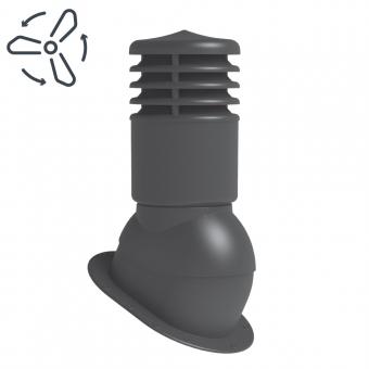 Вентиляционный выход для битумной черепицы WKPIO-2 (150 мм) принудительная вентиляция