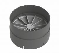 Обратный клапан вертикальный, диаметр 125 мм